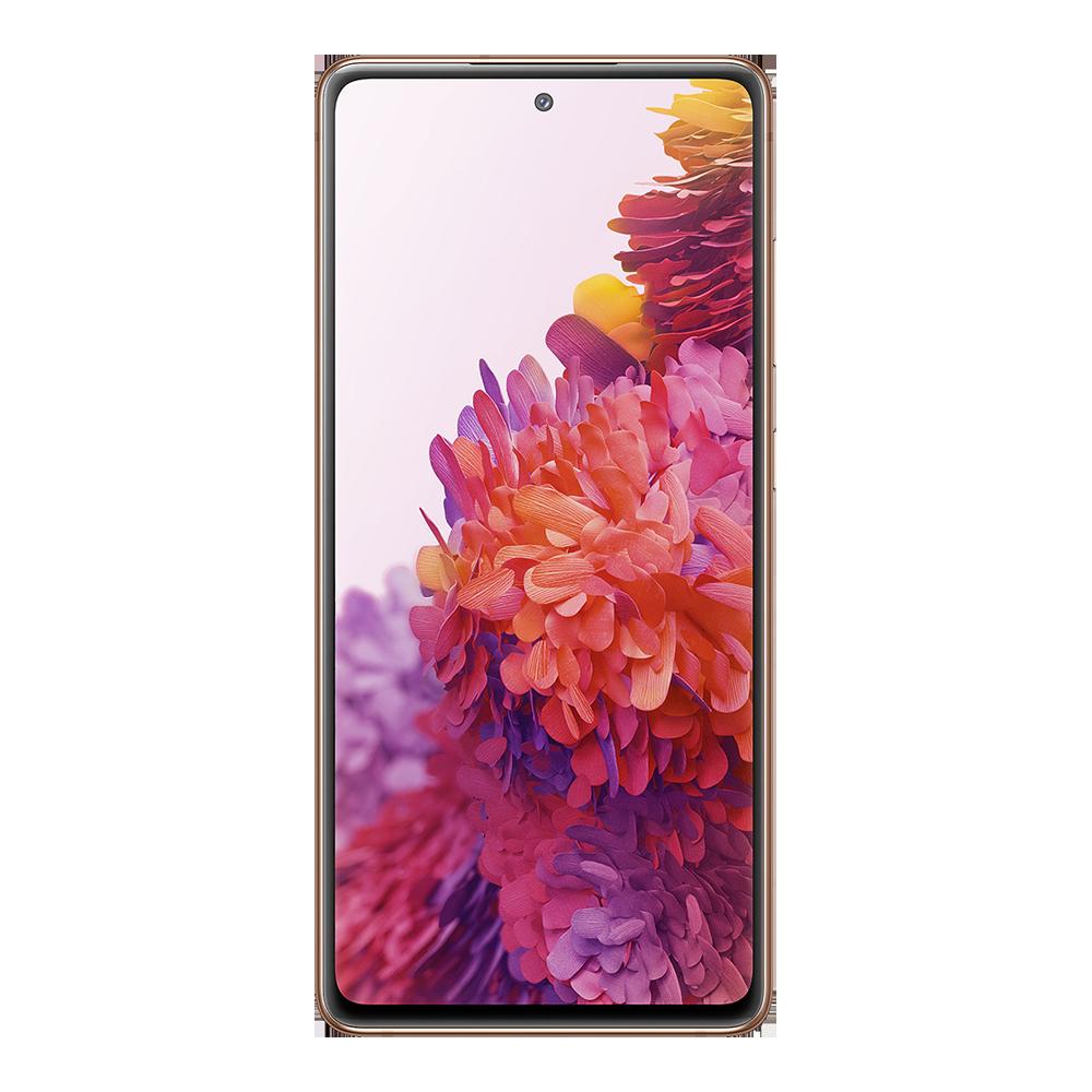 Samsung-galaxy-s20-fe-5g-128go-orange-face