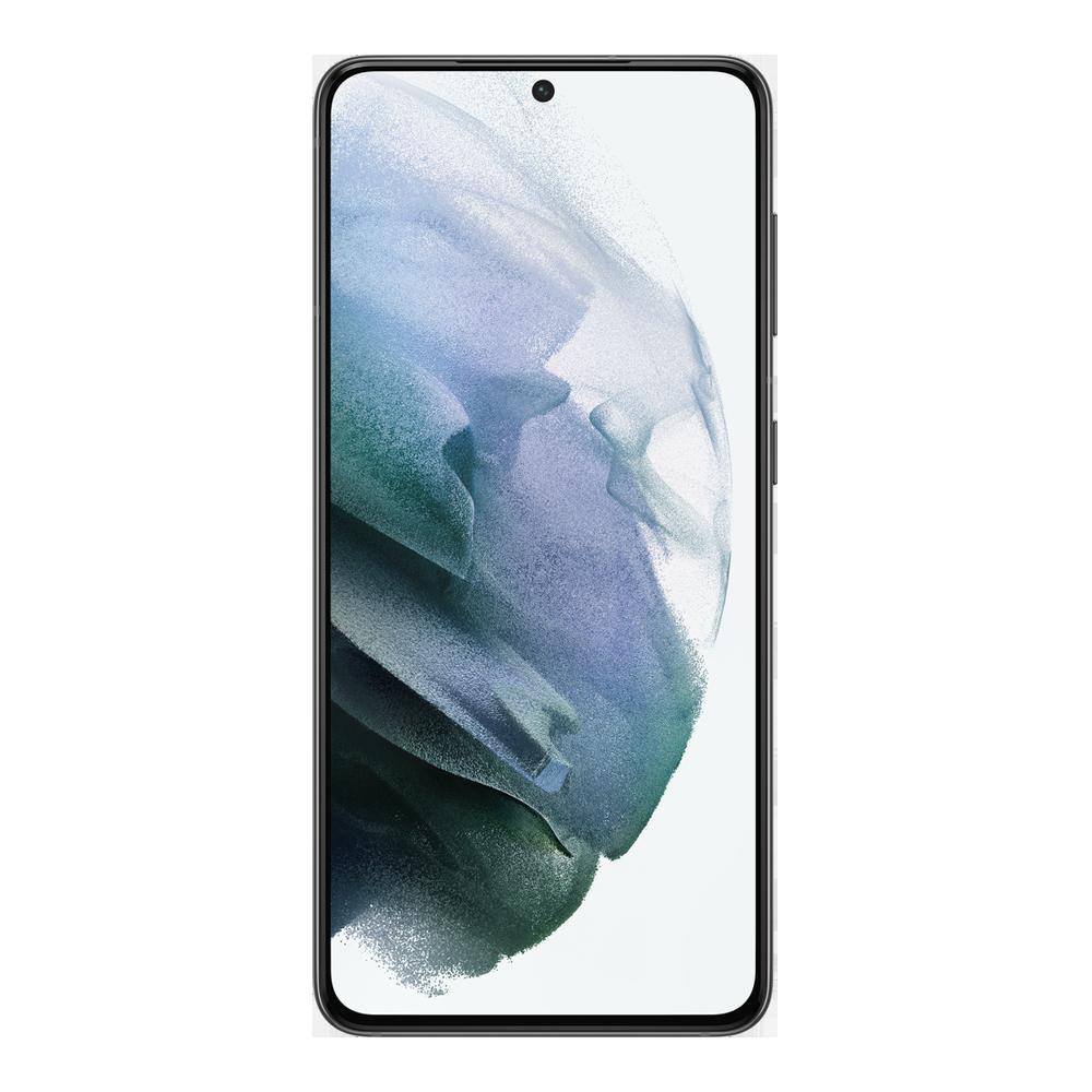 Samsung-galaxy-s21-5g-128go-gris-face