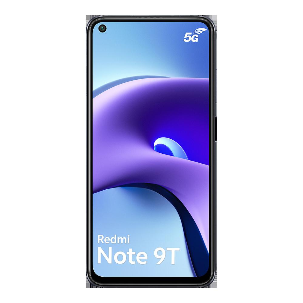 Xiaomi-redmi-note-9t-5g-128go-noir-face